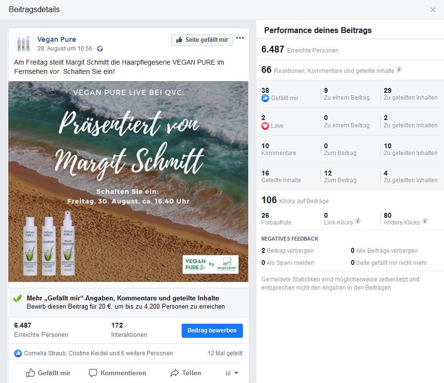 Social Media für Margot Schmitt von PRTB